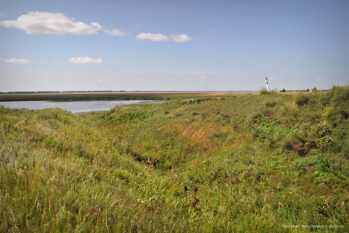 Покровская крепость, Камышловский лог. Омская область