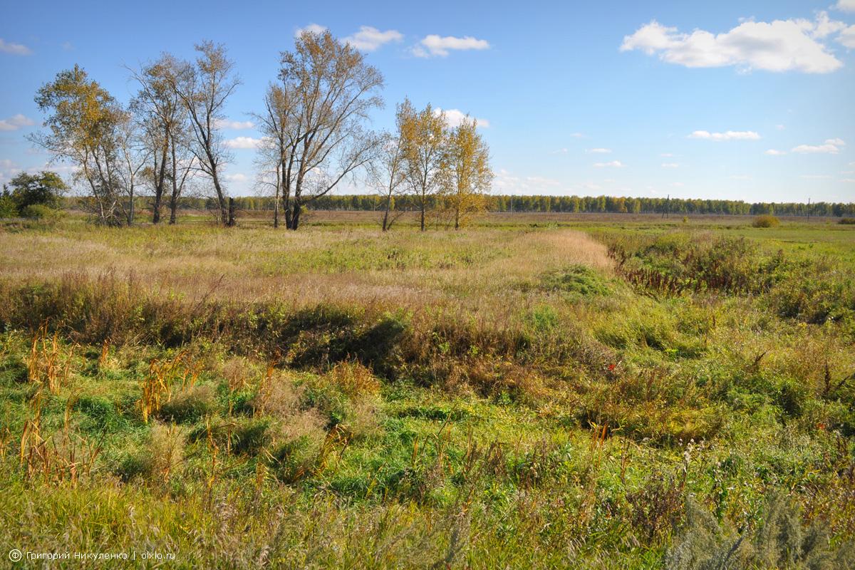 Николаевская крепость и озеро. Омская область
