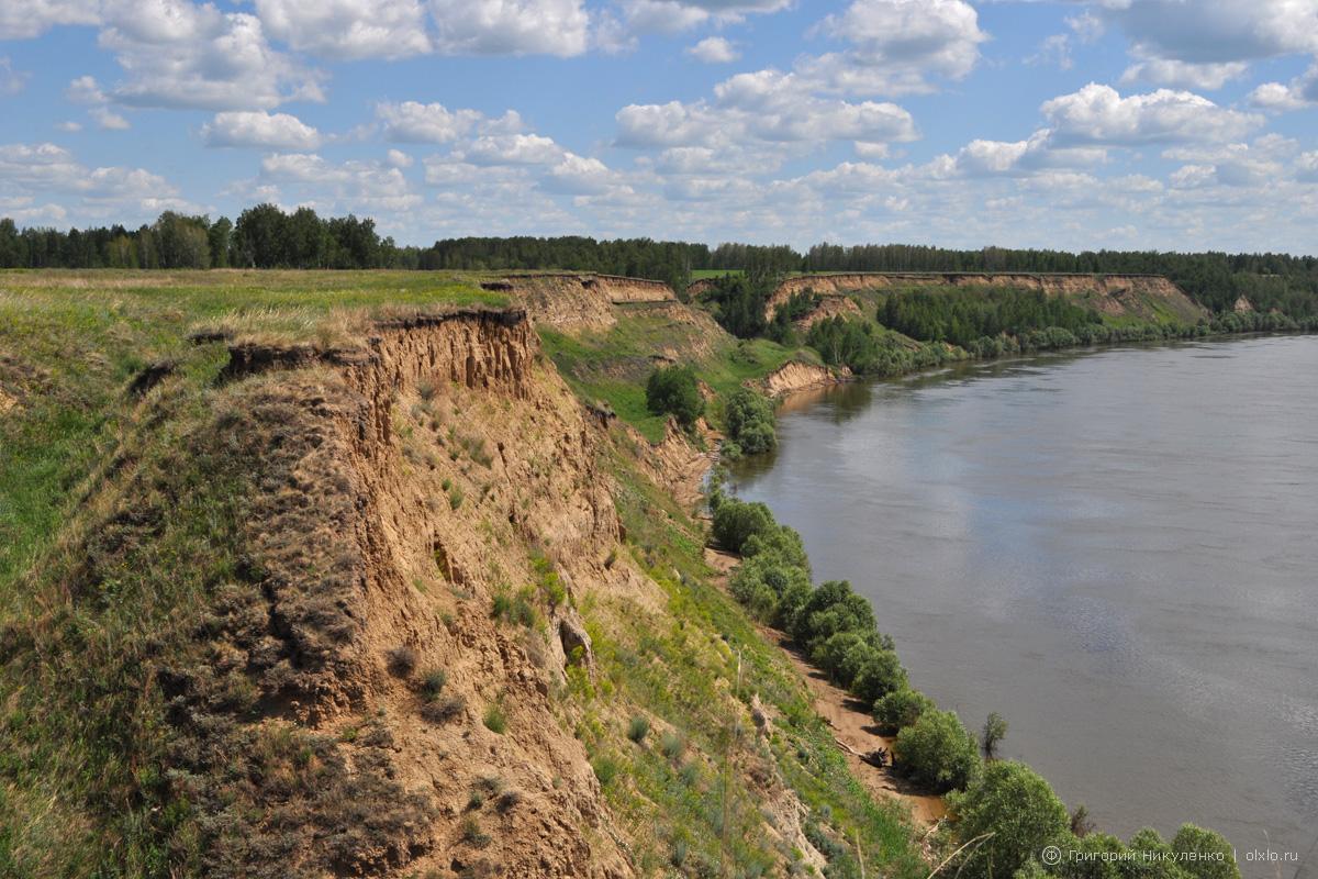 Карташевский Яр на Иртыше. Омская область