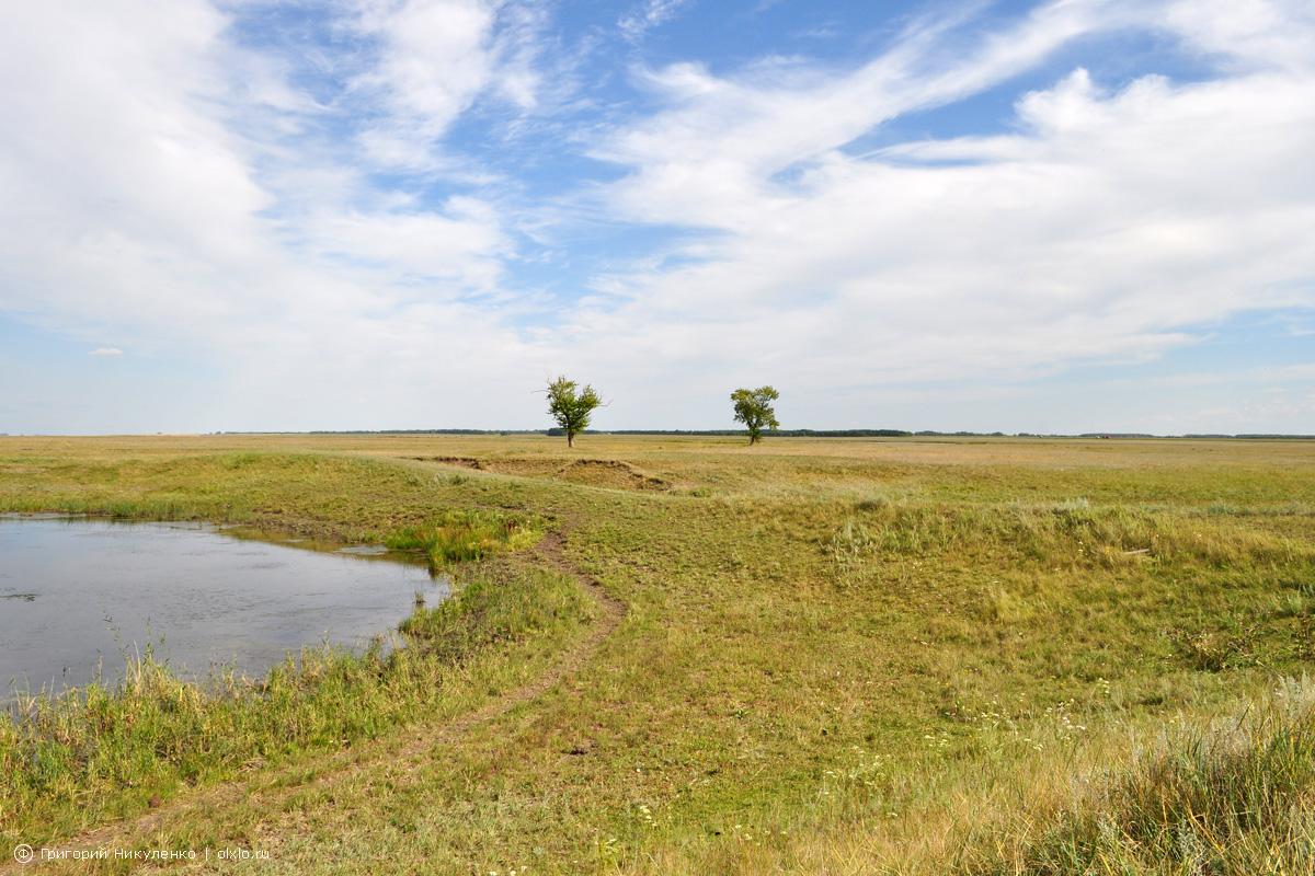 Дубровный редут, озеро Желтое. Омская область